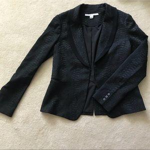 Diane von Furstenberg textured blazer